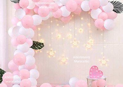 Allestimenti cerimonie battesimi comunioni cresime matrimoni eventi feste addobbi ghirlanda decorazioni Macerata Castelfidardo Senigallia