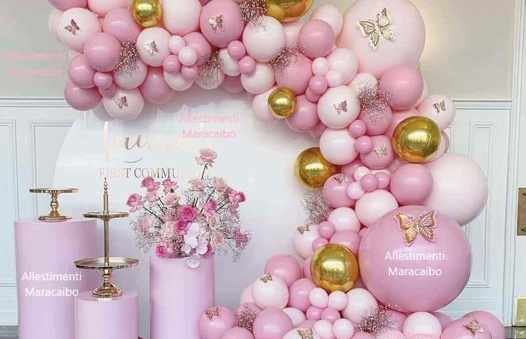 Allestimenti cerimonie palloncini feste eventi compleanni matrimoni battesimi Ancona Macerata Senigallia Recanati Osimo Jesi comunione cresima