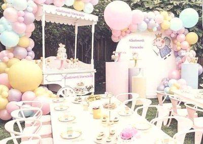 Allestimenti e palloncini addobbi e decori per feste a tema elio compleanni cerimonie eventi Civitanova Marche Monte san giusto Corridonia
