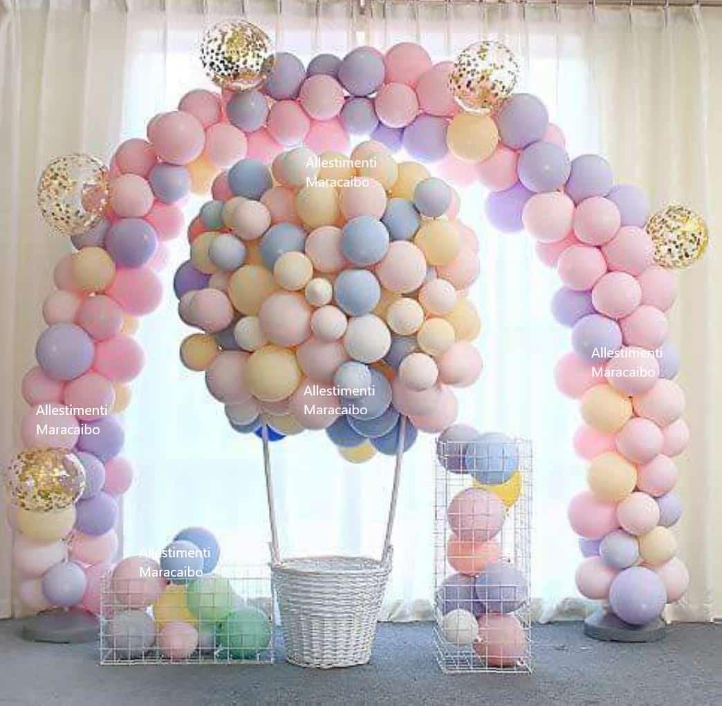 Arco palloncini compleanni feste eventi inaugurazioni negozi centri commerciali archi giganti-min