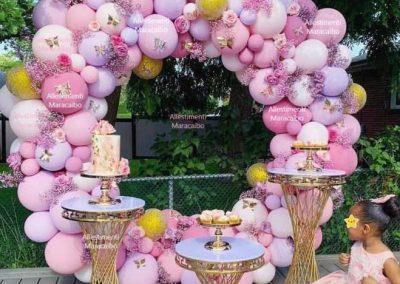 Decorazioni battesimi palloncini Allestimenti cerimonie eventi feste addobbi Marche Ancona Macerata Civitanova Falconara Elpidio Osimo
