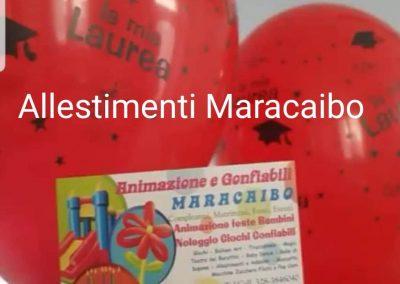 Decorazioni laurea addobbi palloncini allestimenti festa laureati party tavolo centrotavola Marche Ancona Macerata