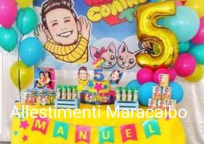 Feste a tema Allestimenti Me contro Te lui e sofi compleanni per bambini personalizzati eventi palloncini feste Addobbi