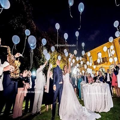 Lancio palloncini elio eventi matrimonio Stampa gigante personalizzata AncoAncona, Pesaro, Fano, Ascoli Piceno, San Benedetto del Tronto, Senigallia, Macerata, Jesi, Civitanova Marche, Fermo, Osimo