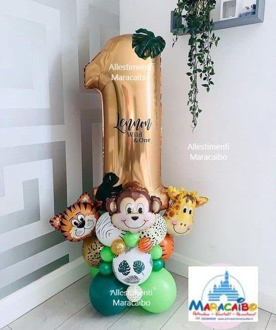 Numeri giganti palloncini mylar composizioni numero elio aria compleanno