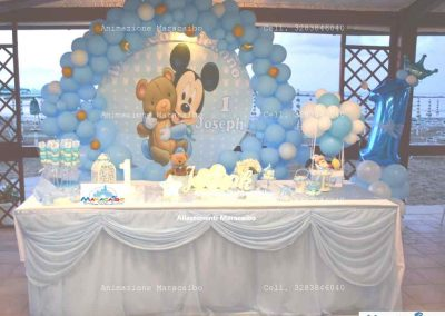 Allestimento Primo Compleanno Bambini allestire con palloncini Ancona Macerata Ascoli Fermo Pesaro Recanati Jesi Osimo Castelfidardo Civitanova Marche
