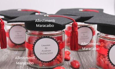 Bomboniere laurea oggetti decorativi regali fine festa souvenir allestimenti addobbi Ancona Macerata San Benedetto Pesaro