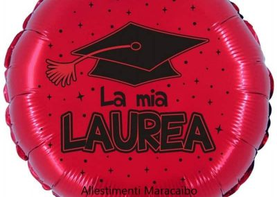 Centrotavola laurea allestimento Maracaibo Marche Umbria Romagna