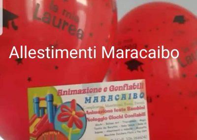 Decorazioni laurea addobbi palloncini allestimenti festa laureati party tavolo centrotavola laureati