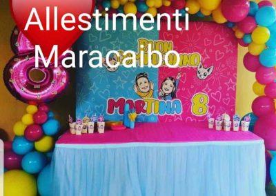 Me contro Te Allestimento a tema Lui e Sofi Compleanno palloncini addobbi e decorazioni Ancona Macerata Fermo Pesaro