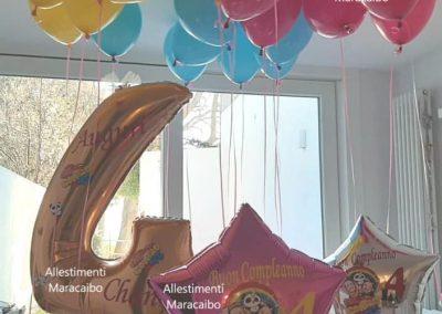 Me contro Te allestimento a tema palloncini lui e sofi composizioni addobbi decorazioni compleanni feste a tema Ancona Macerata Ascoli Pesaro Fermo