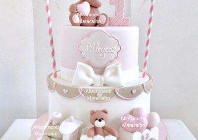 Torta compleanno cerimonia battesimo comunione cucciolo peluche orsetto Ancona Senigallia Macerata Jesi Civitanova Marche Osimo Loreto