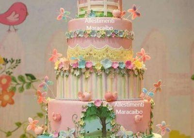 Torta compleanno cerimonia battesimo comunione matrimonio giungla Pesaro Fano Ascoli Piceno San Benedetto del Tronto Fermo Porto Sant Elpidio-min