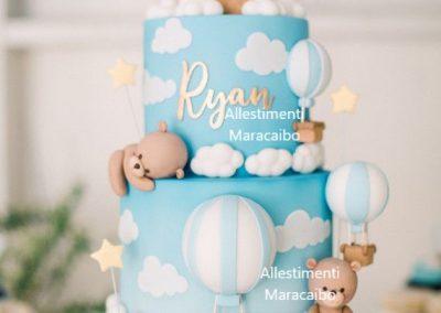Torta compleanno cerimonia primo compleanno bambino bambina Ancona Senigallia Macerata Jesi Civitanova