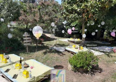 Allestimenti Battesimo decorazioni addobbi palloncini battesimi Ancona Macerata Fermo Civitanova Senigallia cerimonie organizzazione eventi Marche