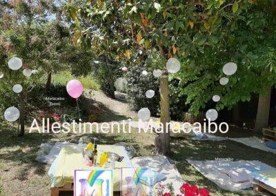 Allestimenti Battesimo decorazioni addobbi palloncini battesimi Pesaro Fano Marotta Elpidio Potenza Picena Monteurano Tolentino Corridonia