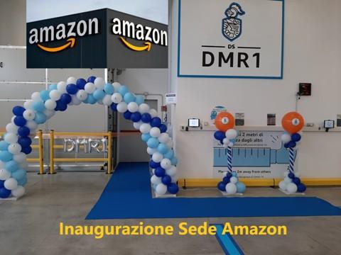 Allestimenti Maracaibo inaugurazione Amazon organizzazione evento aziendale addobbi palloncini decori archi elio torta catering buffet eventi 2