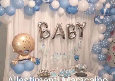 Battesimo palloncini addobbi allestimenti torta Castelfidardo Ancona Macerata Tolentino Camerano Falconara Senigallia Jesi Fabriano Recanati Civitanova Marche