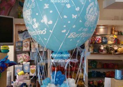 Mongolfiera palloncini cerimonie matrimoni battesimo
