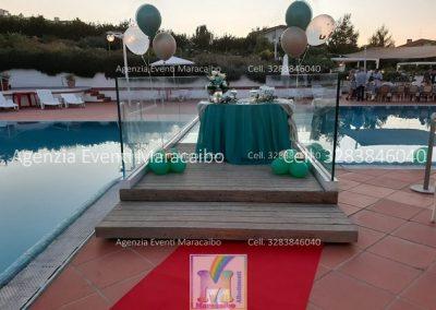 18 anni allestimento diciotto anni festa addobbi organizzazione evento decorazioni palloncini musica scatola regalo fuochi tavolo torta Fano Marotta