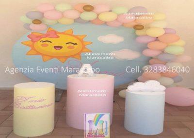 Addobbi compleanno palloncini battesimi cerimonie decorazioni arco centrotavola Chiaravalle Elpidio Potenza Corridonia