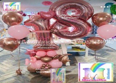 Numero gigante 18 anni palloncino compleanno diciotto diciottesimo numeri grandi elio allestimenti palloncini-min
