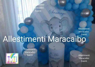 Addobbi battesimi allestimenti tavolo torta confettata segnaposto centrotavola palloncini elio scritta archi Macerata Civitanova